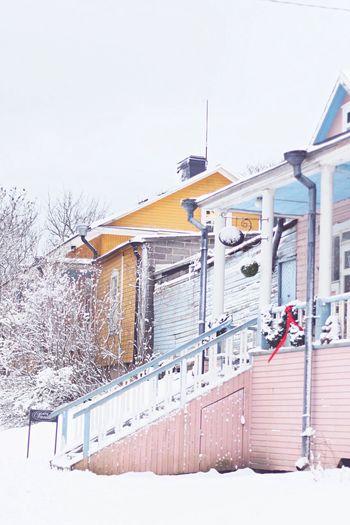 Finland Suomenlinna Snow