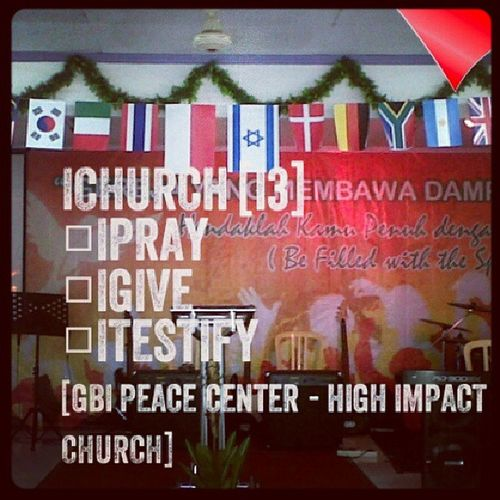iCHURCH. Support our chruch with i3.,, Gbi Gbipeacecenter
