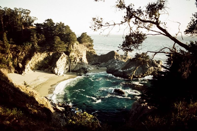 Mcway Falls, California Nature Beach Filmphotography California McWay Falls Slidefilm