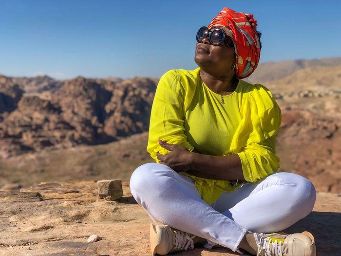 Photo taken in Petra, Jordan