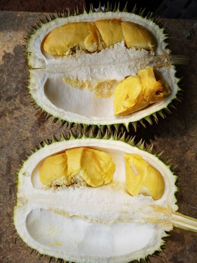 King of fruit durian King Of Fruits Durian Fruit Durian Durian Season Yellow Yellow Close-up Food And Drink