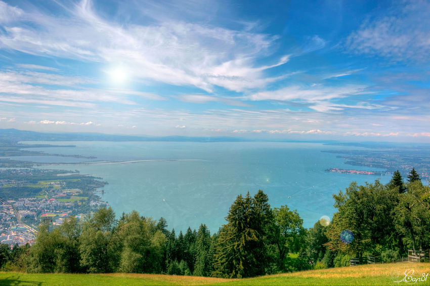 Lake Constance - Bodensee from the top Bodensee Bodenseebilder Sea Beauty In Nature Landscape