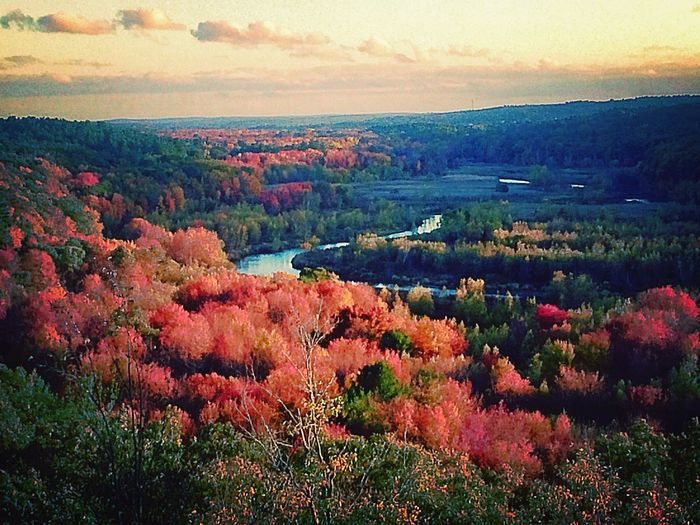A view of the Blackstone River Landscape #Nature #photography Autumn IPhoneography Starmatic Family