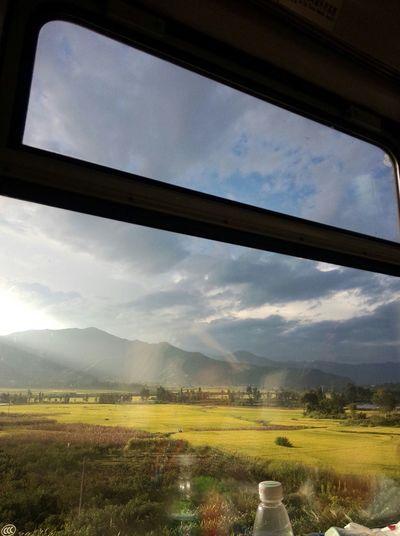 我的家乡Big cool mountian My Hometown On The Train Southwest China
