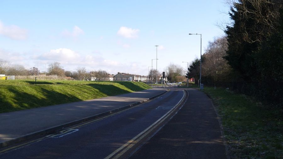 Swindon Bus Lane Town