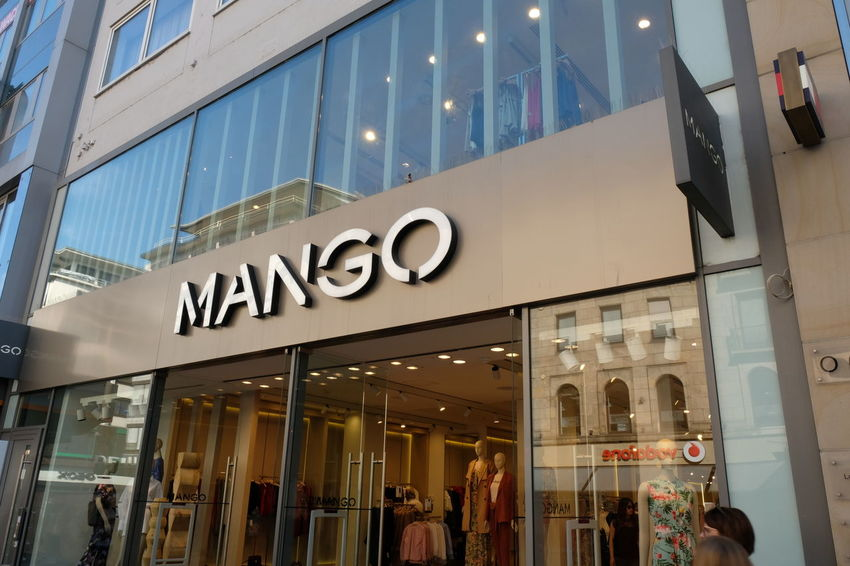 Mango store signage. Mango is a Spanish clothing and accessories apparel retailer Clothes Store Mango Shopping Shopping ♡ Brand Clothing Shop Clothing Store Shop Shopaholic Shopping Mall Store