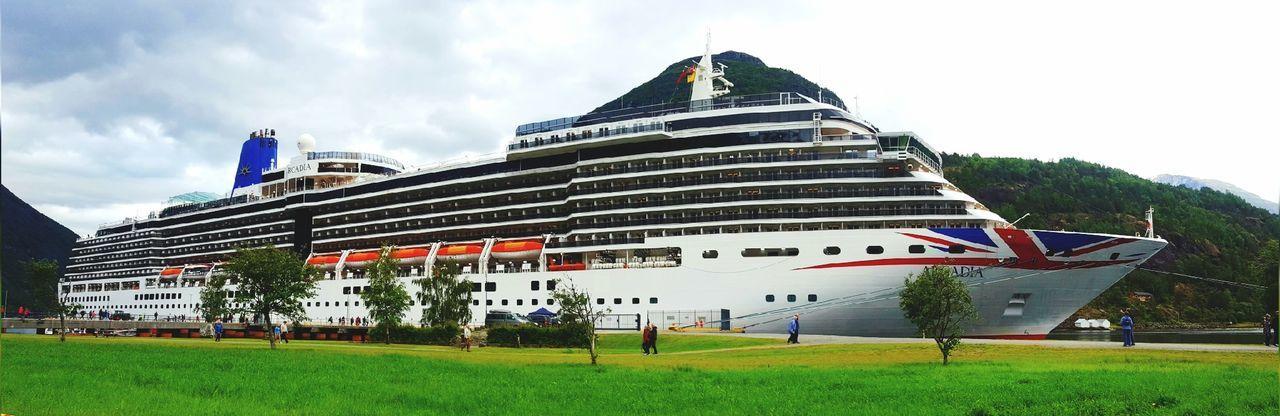 Norwegian fjords Ships Ships⚓️⛵️🚢 Shiplife Scenery Norway Fjords Fjordsofnorway