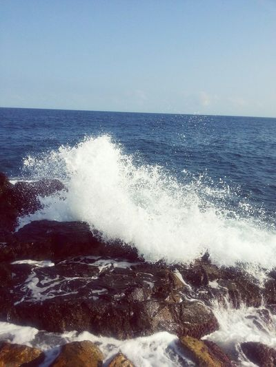 Life Is A Beach Taking Photo Wildwave Water & Rocks & Sea* Eyem Nature Lover J'adore La Nature!