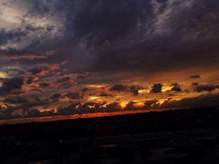 Stormy Days Sunset