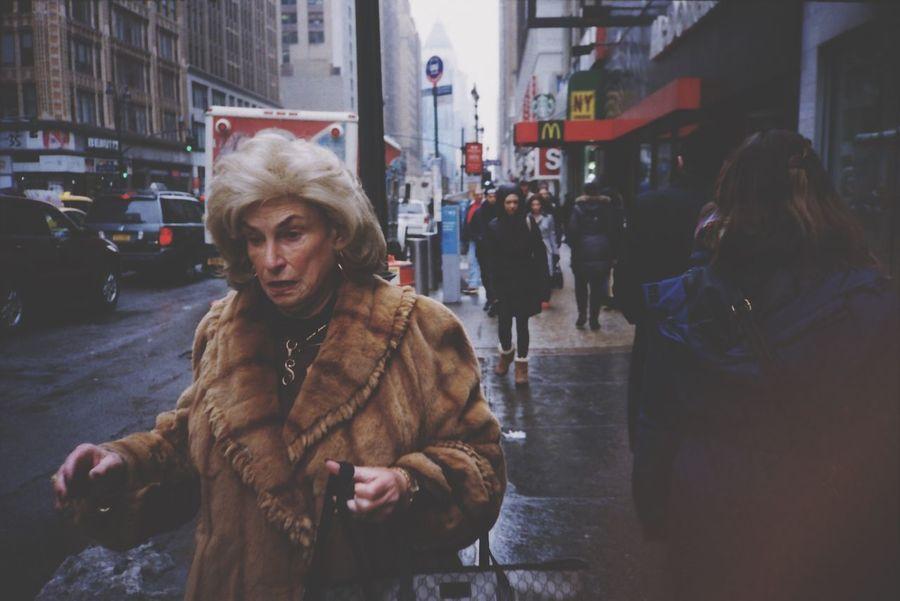 She said Street Photography NYC Street Pointandshoot Olympusxa