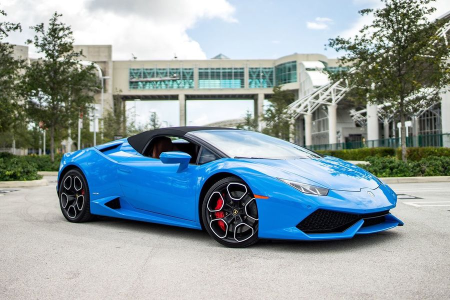 Lamborghini Huracan spyder shoot florida 2016 Carporn No People Racecar Motorsport Car First Eyeem Photo