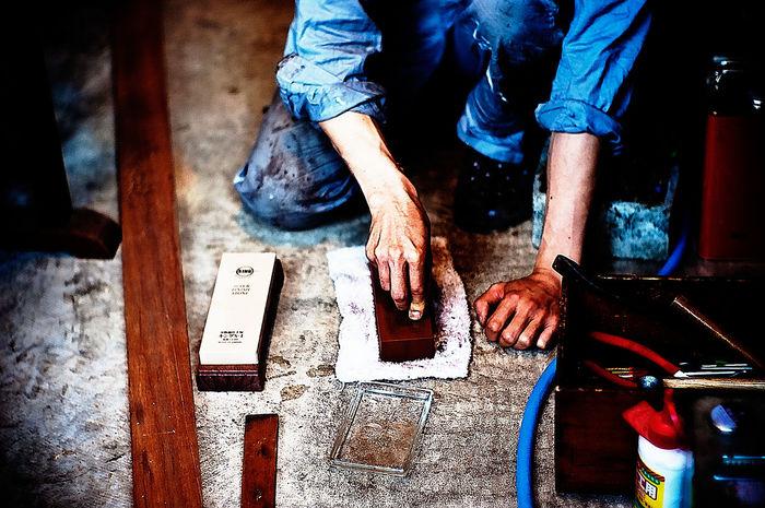 Hands Craftsman Craftsmanship  Epson R-D1 Hands At Work
