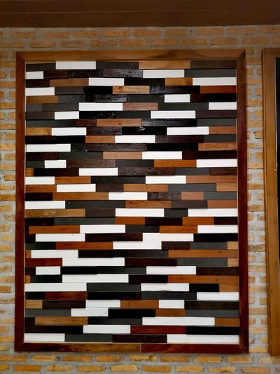 Wall Decoration Kao Wooden Wall Wall Decoration Wood - Material Close-up Color Swatch Interior Designer