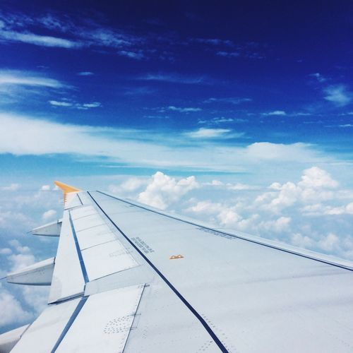 Flight on Plane Sky Cloud Blue Sky Trip Travel Photography Enjoying Life The Week Of Eyeem