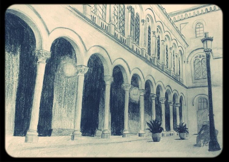 Drawing Barcelona My Drawing Universitat De Barcelona