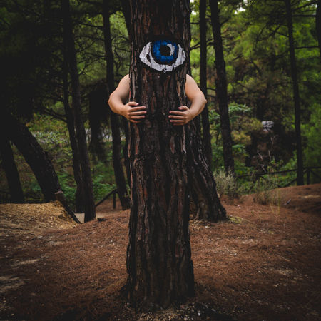 Adult Adults Only Day Fashion Forest Human Body Part Human Hand Leisure Activity Nature Nikon 35mm Dx 1.8 Nikon D7000 One Person One Woman Only Outdoors People Photography Themes Tree Tree Trunk Women Young Adult