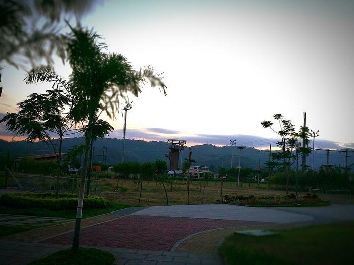 Sunset Playground Nature Outdoors Jcvaldes First Eyeem Photo