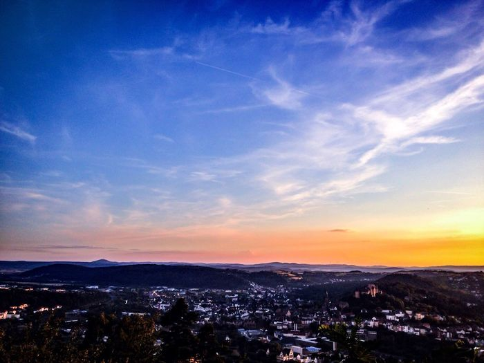 Blick auf Marburg... First Eyeem Photo