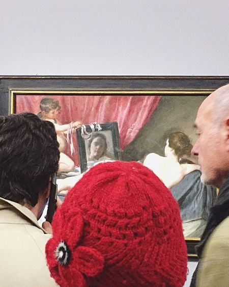 Museum Painting Discovering Great Works Velázquez Red People People Photography Art ArtWork People In Museum