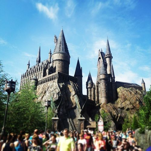 Feels like home WizardingworldofHarryPotter Hogwarts Florida