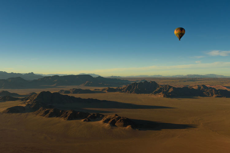 Hot Air Balloon Landscape Landscape_Collection Landscape_photography Mountain View Namib Desert Namibia No People Shadows & Lights Sunrise