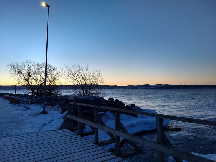 Early morning Early Morning Lake View Winter March Commuting Outdoors Water Clear Sky Blue Sky Horizon Over Water Pier