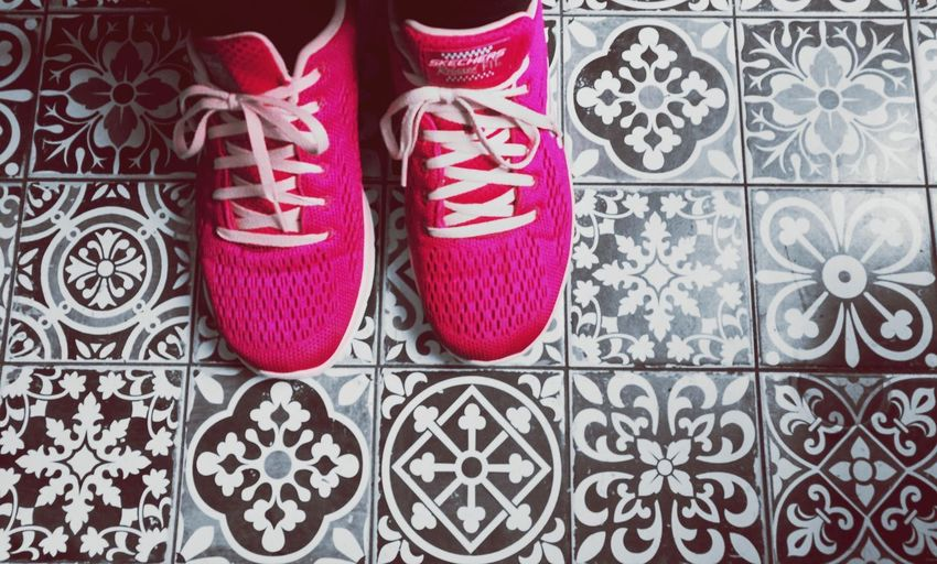 Out Of The Box Tiles Human Body Part Shoe Pink Pink Color Shoes Shoes ♥ Shoeselfie