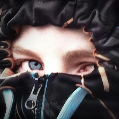 Eye Hoodie Jacket Boy Blue Eyes