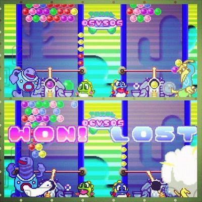 Me vs. @alessandrorocks (Broh) SuperPuzzleBubble GBA Link