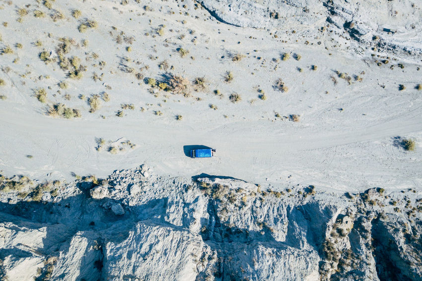 DJI X Eyeem Desert Wild West Aerial View Beauty In Nature Blue Cold Temperature Day Desert Landscape Full Frame Landscape Mountain Nature No People Outdoors Sand Scenics Snow Tabernas Desert Western