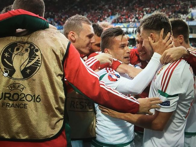 Respect guys! Hungary is back... 🇭🇺👏🏼😁👻 Hungary Euro2016