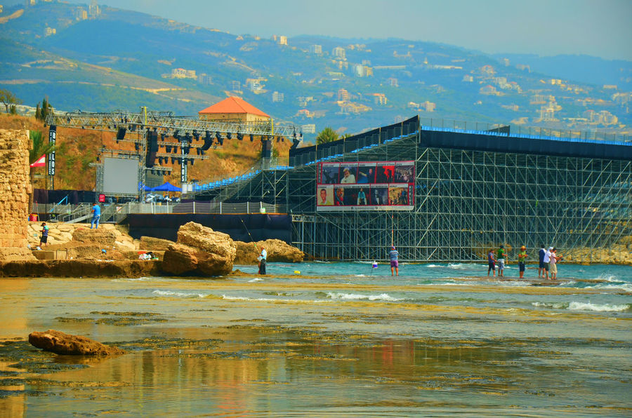 Architecture Built Structure Byblos Byblos International Festival Byblos,Lebanon Construction Day Festival Leisure Activity Lifestyles Nature Outdoors Water