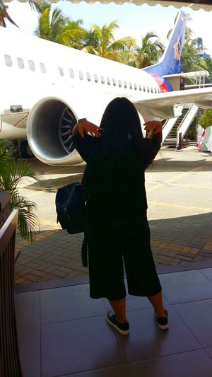 Ootd Airplane Atrestaurant Beyourself Iloveindonesia