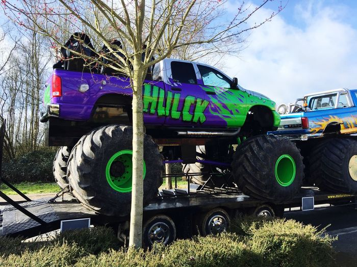 Car Custom Cars Monster Trucks