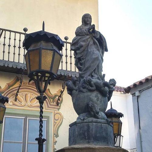 Virgendelosfaroles PobleEspanyol Puebloespañol Barcelona Montjuic Outdoormuseum Ulkomuseo SPAIN Best_lantern_archive