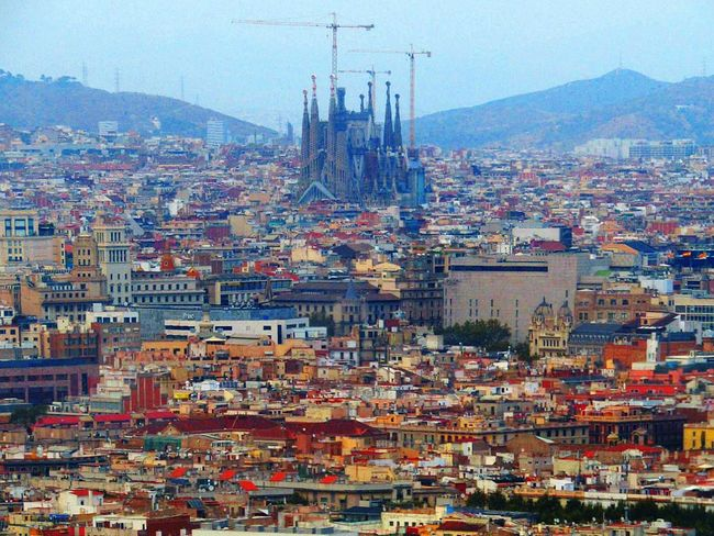 Cityview Windowview Birds Eye View Above The City Landscape Landscapephotography Taking Photos Hello World Buildingphotography Architecture Sagradafamilia Sagradafamiliabarcelona Waypoint Beautifulview Eyeemcollection Eye4photography  Barcelona SPAIN Houses Fine Art Photography From My Point Of View