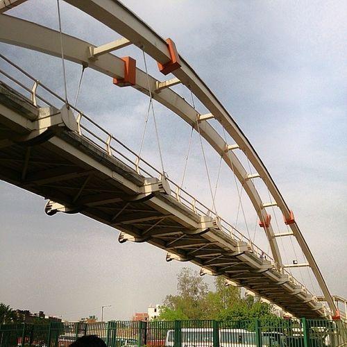 Bridge Ghaziabad Bike Ride Fun Sunny Exams