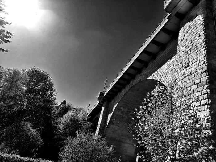 Blackandwhite Black & White Unforgettable ♥ Unforgettable Moment Brücke Bridges Sky