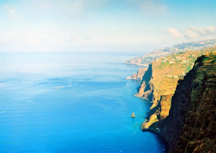Protecting Where We Play Breath taking landscape of Madeira. Mountains Mountain Mountain View Nature EyeEm Nature Lover Ocean Ocean View Filmcamera Film