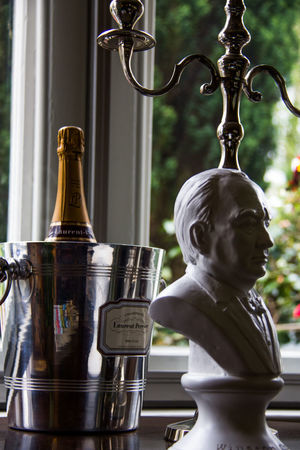 Art And Craft Candelaria Champagne Close-up Day Human Representation Ice Bucket Indoors  No People Sculpture Statue Winston Churchill