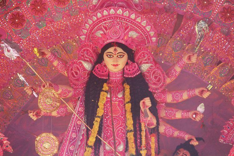 Durga Pooja 2k17@Nashik , Godess Durga Idols