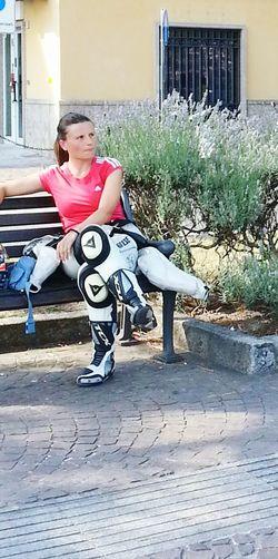 Italia Italiangirl Moto Girlfriend First Eyeem Photo Dainese Beautiful Girl Bergamo, Italia