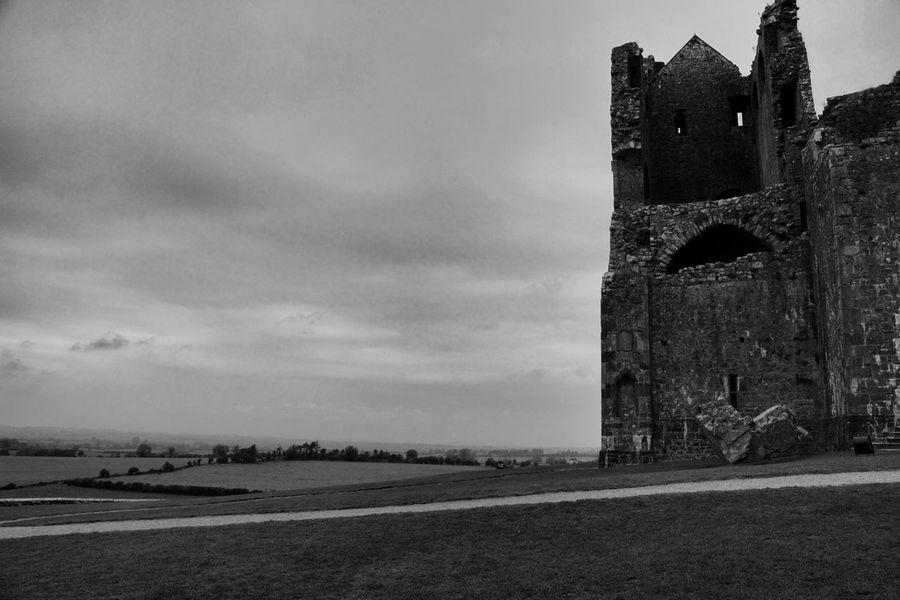 Abbey Architecture Blackandwhite From My Point Of View Historic History Ireland Old Ruin Photography Rock Of Cashel Ruin Tadaa Community The Past