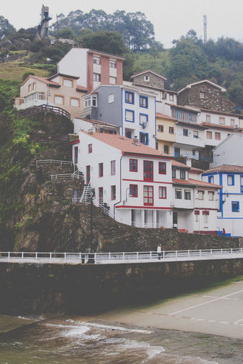 Cantabria SPAIN Architecture Building Exterior Built Structure City Day House Mountain Nature No People Norte Outdoors Residential Building River Sky Town Travel Destinations Tree Water