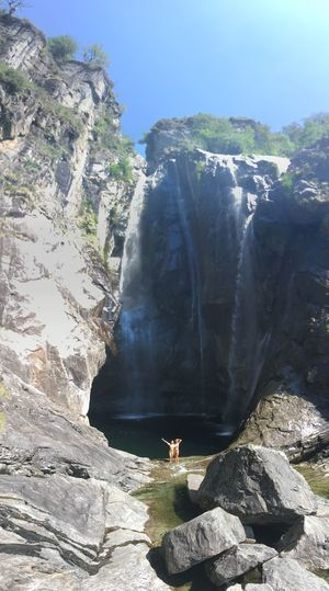 My Favorite Place Ticino Waterfall Water Switzerland