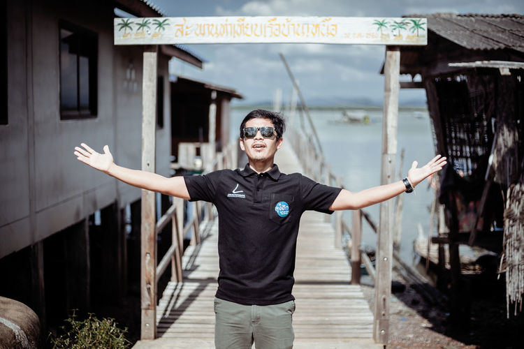 "Thailand Tour "" Tanyong Po, Satun, Thailand "" Holiday Nature Thailand Tour Travel Go To The Sea One Man Port Relax Sea Sea And Sky Sky"