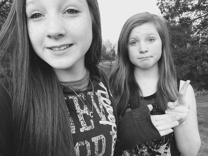 Took Selfies While Waiting On Josh And Mac!!(: 👌