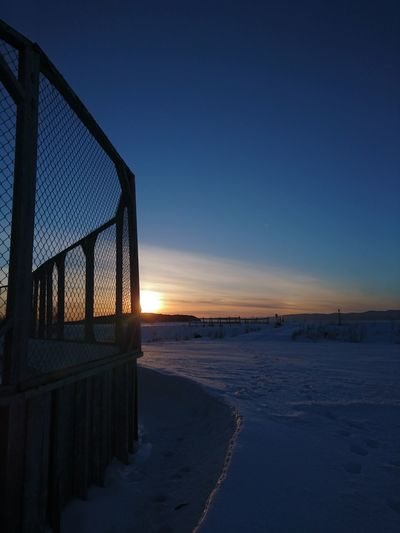 Sunset Sky Nature Winter Snow Snow ❄ Beauty In Nature Outdoors Mountains Mountains And Sky