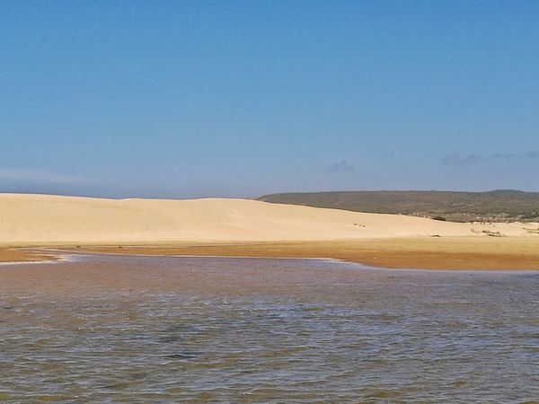 Beach Sand Landscape Sea Outdoors Sand Dune Tranquility Nature Reserve Nature Water Blue Scenics No People Desert Day Low Tide Mountain Beauty In Nature Sky Flamingo