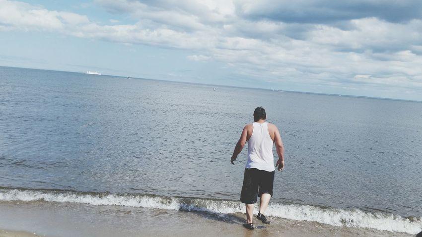 Sunny Fun Yesterday Beach Bathing Suit  Husband Daddy Dad Happy Dad's Day